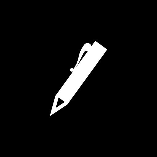 raphael_pen_flat-circle-white-on-black_512x512
